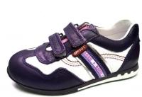 Minitin ортопедические кроссовки /белый/фиолнтовый
