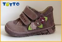 Тотто ботинки кроссовки осень/весна 123 ирис/цветы