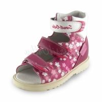 Sursil Ortho сандалии завышенный жесткий берец 15-244 т.розовый