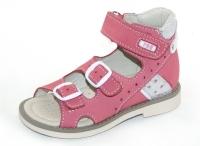 Baby Orthopedic Shoes сандалии розовый/стразы 164-111