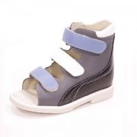 Ortuzzi сандалии 006G серый/синий