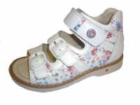 .MyMini сандалии 124-S30-D8 белый/мелкие цветы
