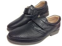 Mini-shoes туфли школьные синий/кожа