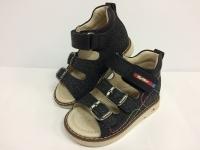 MyMini сандалии 100-8-57-57 чёрный/радуга