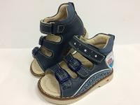 .MyMini сандалии синий/значок