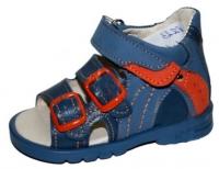Тотто сандалии 0223 синий беж.