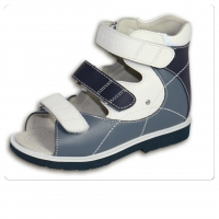 ОРТОДОН сандалии завышенный жёсткий берец 1334 синий/белый