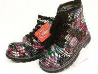 Minitin ботинки осень/весна  радуга