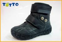 Тотто ботинки  осень/весна 238 синий/джинс