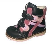 .MyMini ботинки черный/розовый