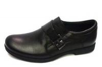 .Minitin туфли школьные черный/пряжка