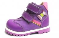 Minitin ботинки осень/весна В 2110 фиолетовый