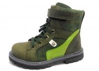 Minitin ботинки осень/весна 314 зеленый