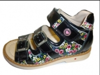 .MyMini сандалии черный/цветы